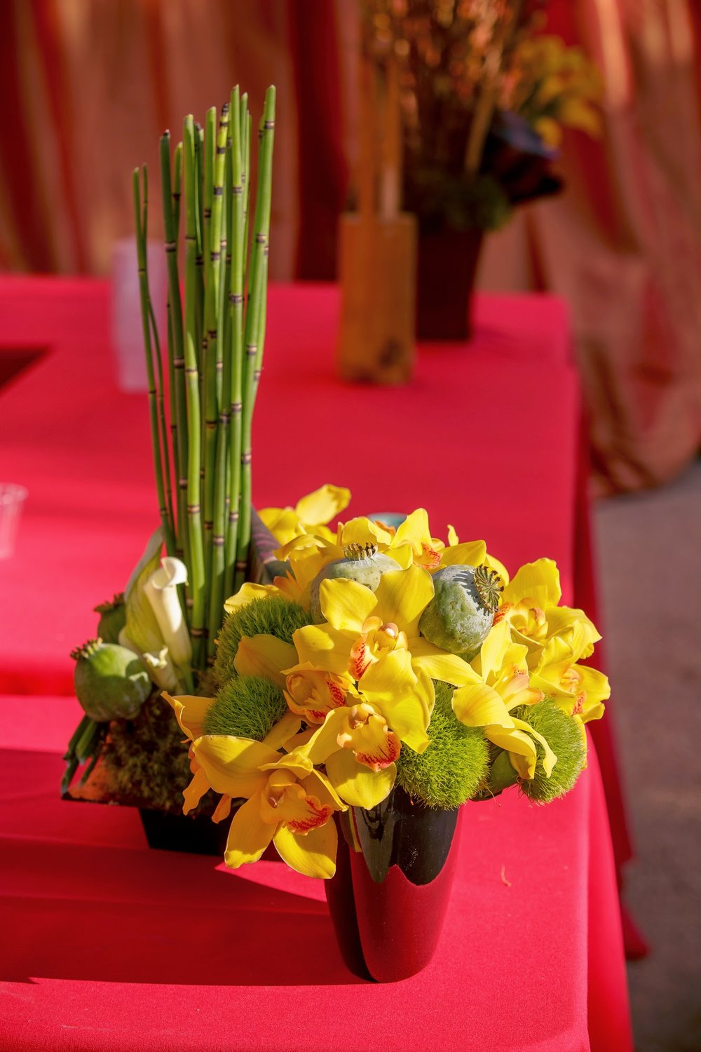 felicievents.com | Corporate Event planner | Asian Theme Dinner | Fundraiser | Non-Profit | Asian Floral Inspiration