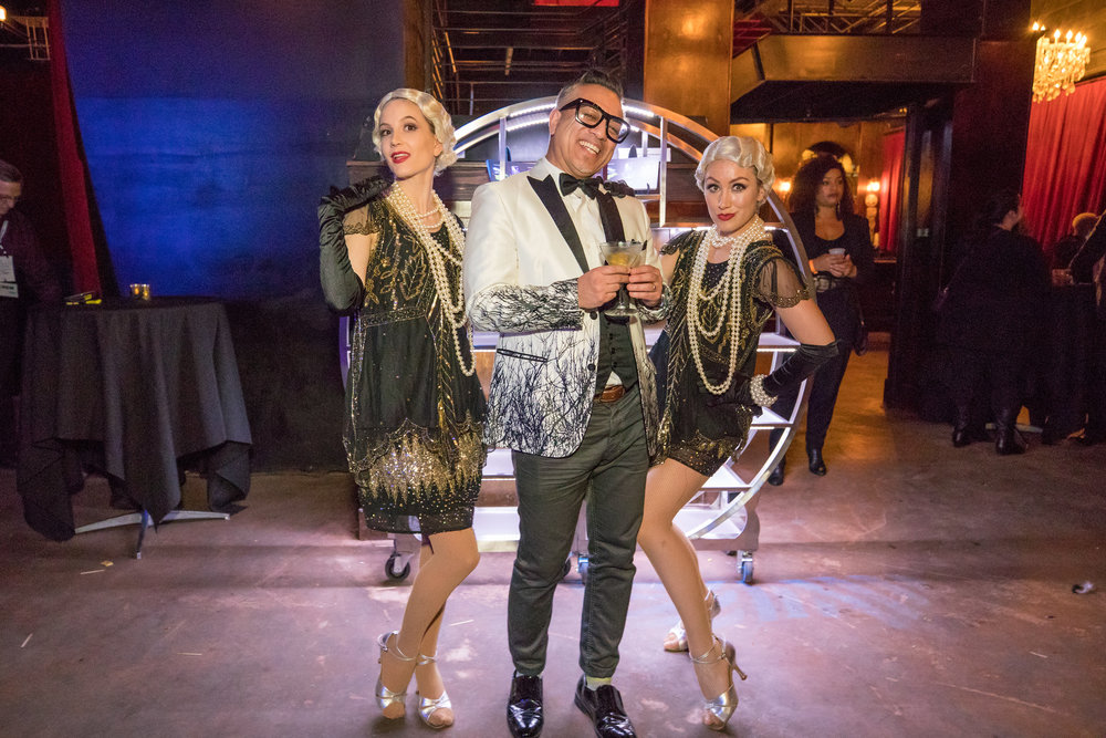 www.felicievents.com | The Federal Bar Long Beach | Roaring 20's theme party | Food Ideas | Champagne Creative Group | TSE Connects 2017