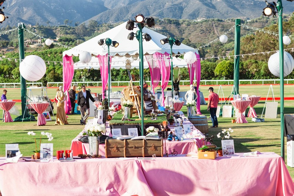 www.FeliciEvents | Pink Polo Party | Funraising Event | Felici Fundraiser | Polo Theme | Clarissa Koenig Photography | Pink Event Design