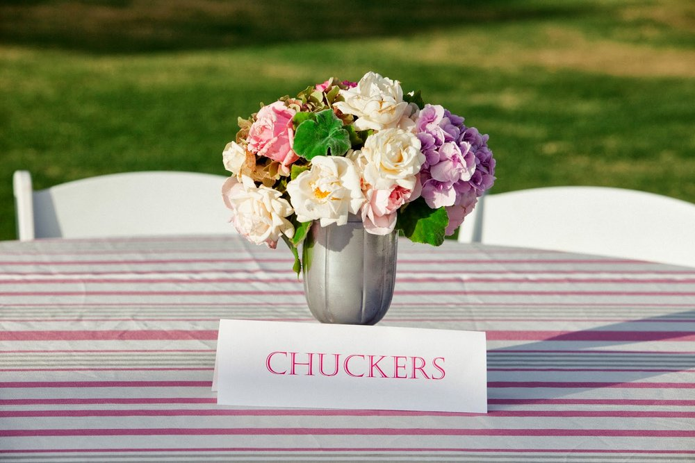 www.FeliciEvents | Pink Polo Party | Funraising Event | Felici Fundraiser | Polo Theme | Clarissa Koenig Photography | Floral | La Tavola Linen