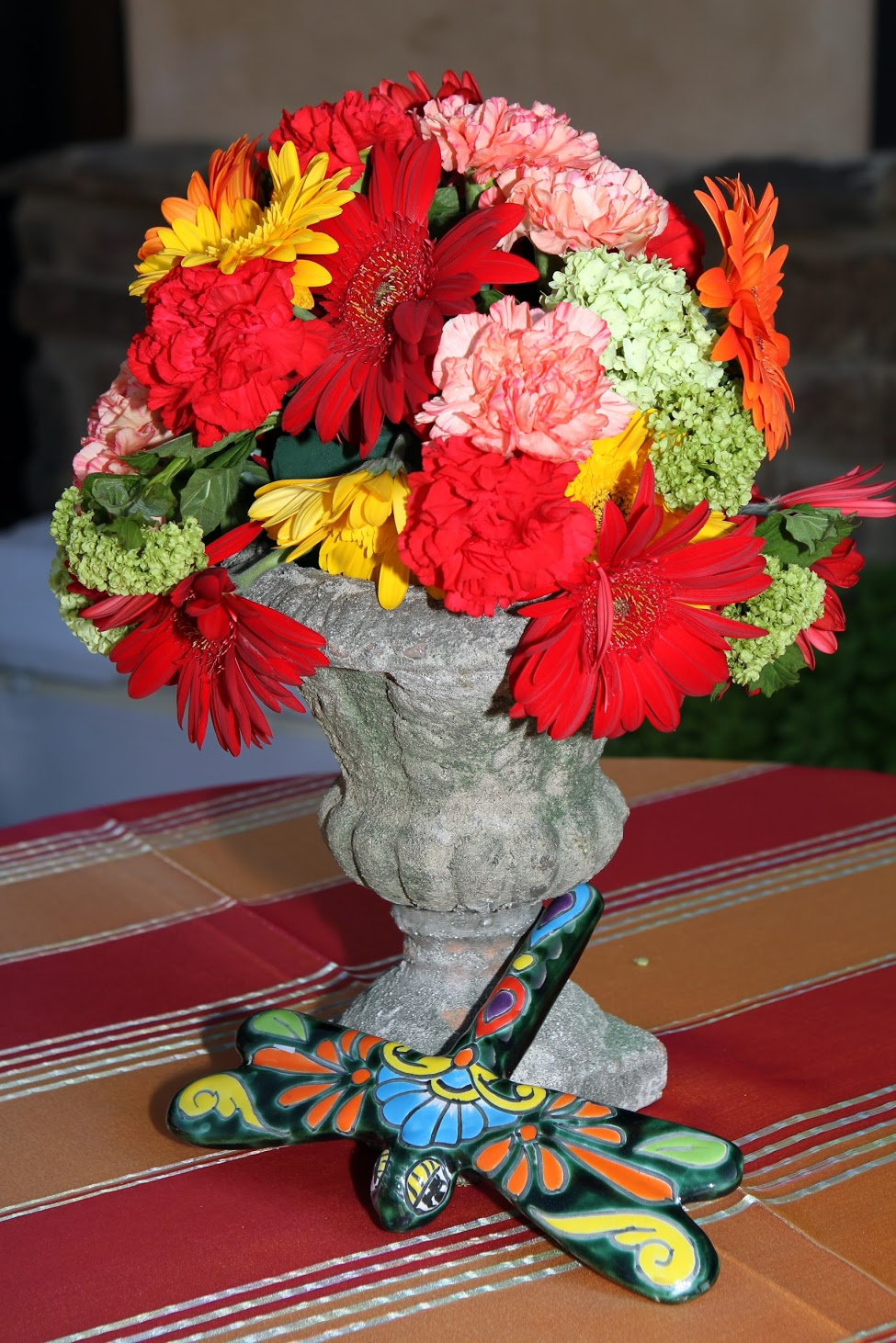 www.felicievents.com | hacienda fiesta | Mexican Party | Centerpieces