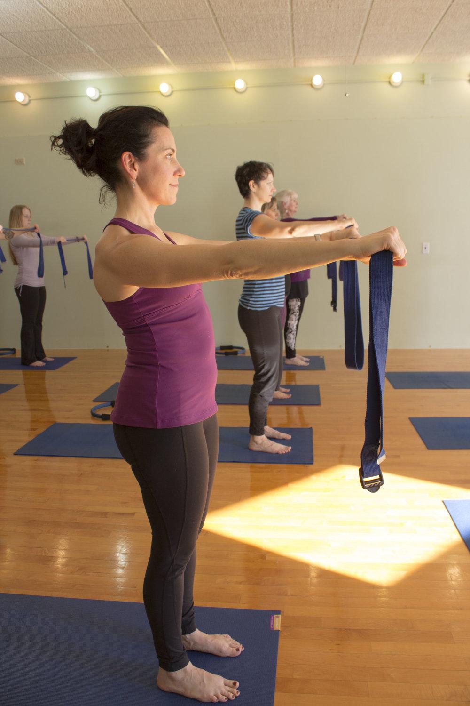Yoga/Pilates shoulder work