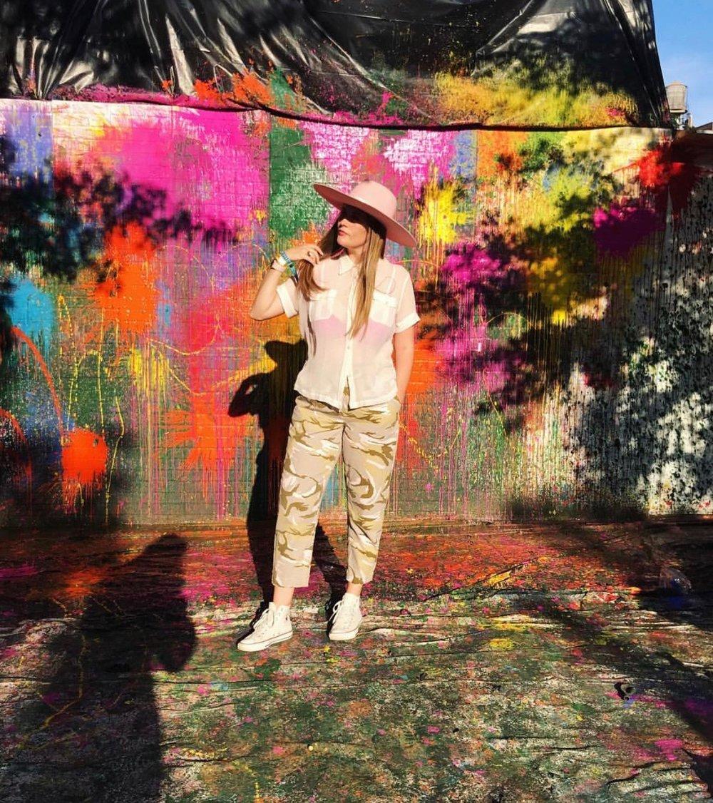Quinn Barker, New York-based Stylist.