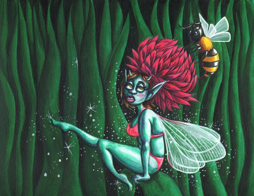 Fairy & Bee