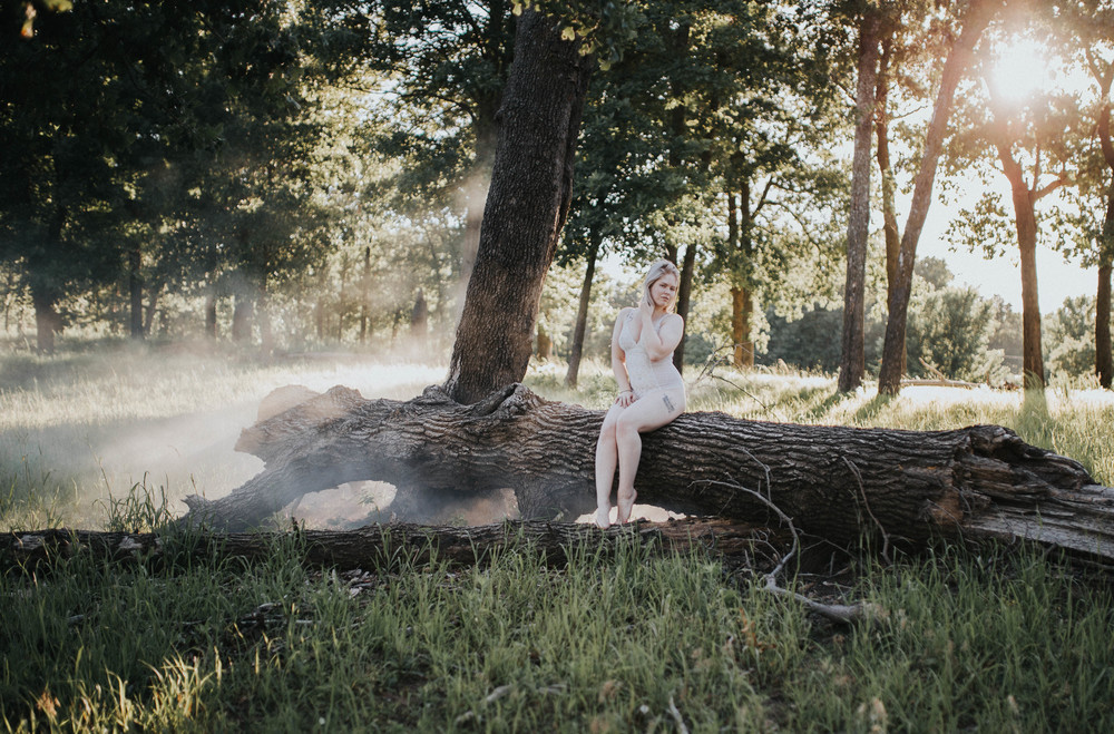 Walnut Creek Park Outdoor Glamour Session