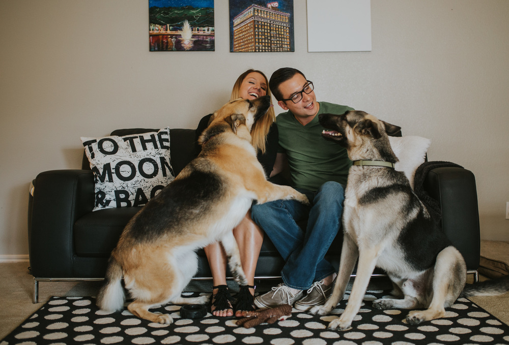 Tulsa Family in home photography lifestyle session