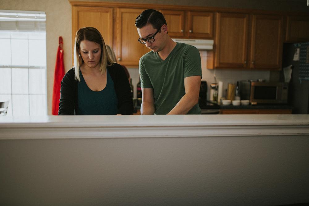 In home couples photography Tulsa Oklahoma