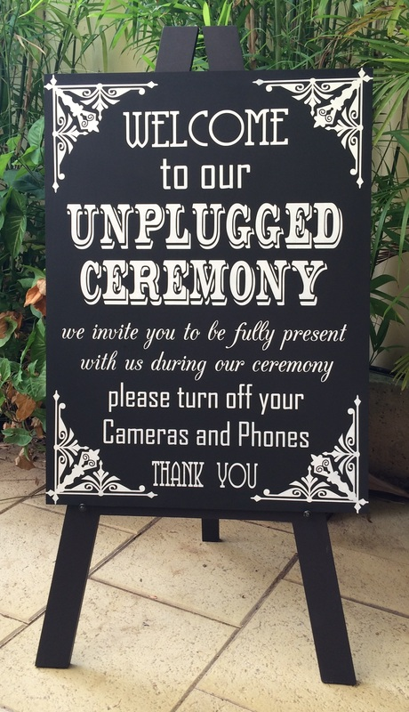 unplugged-wedding-welcome-sign