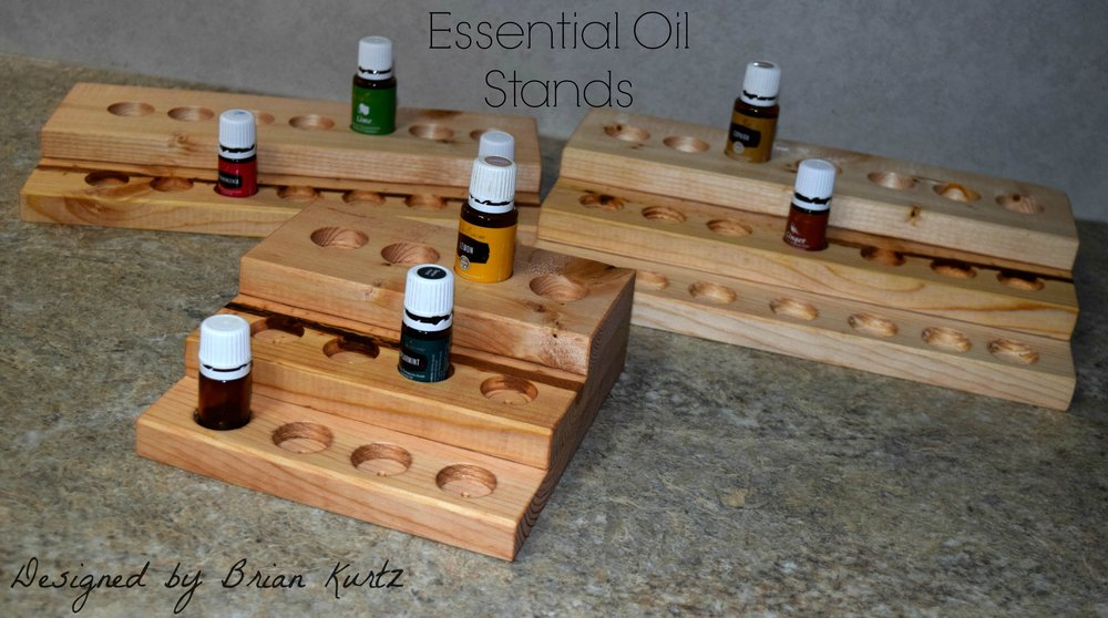 Interested in ordering an Essential Oil stand? Message me for details!