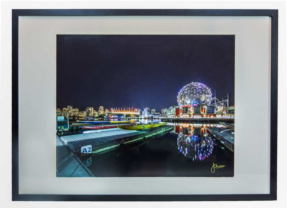 Science World Reflections (Framed)