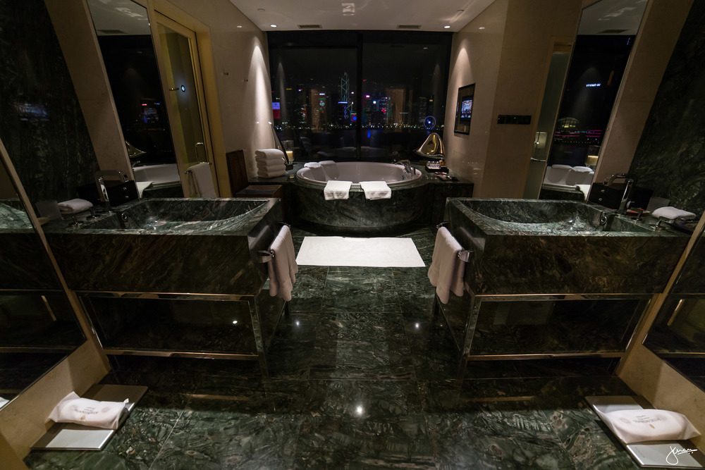 Master Bathroom, complete with views of Hong Kong