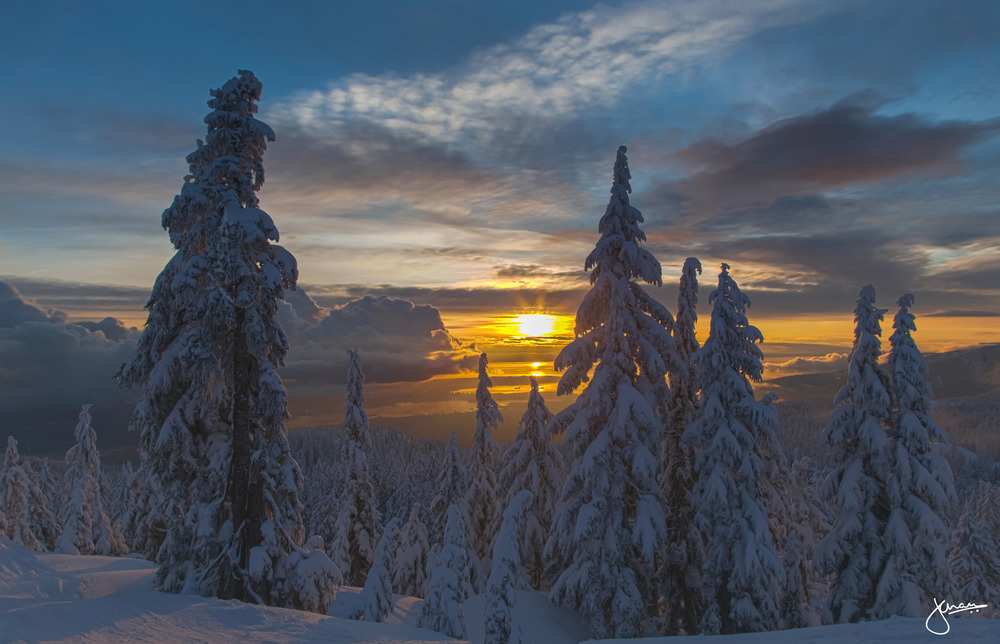 Mount Seymour Sunset