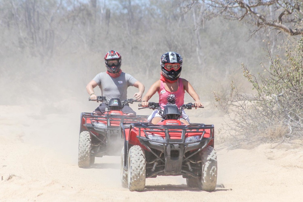 ATV Rides in the dessert