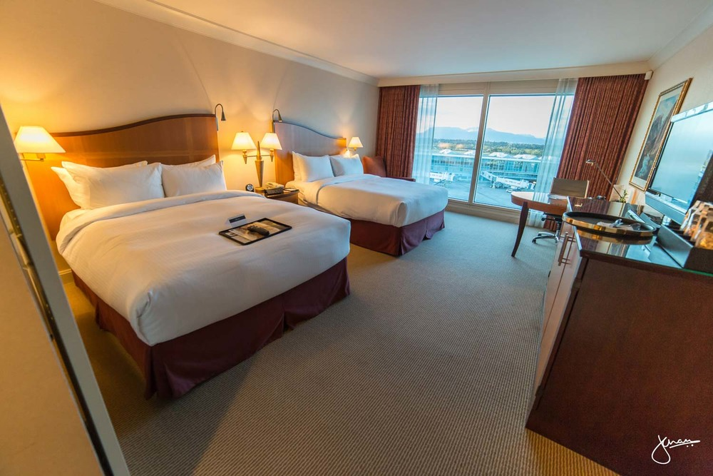 Fairmont Vancouver Airport Room