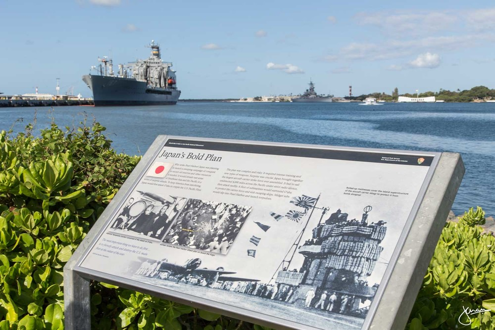 Pearl Harbour Memorial