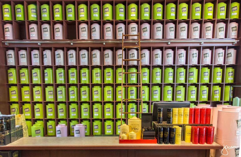 Wall of Teas