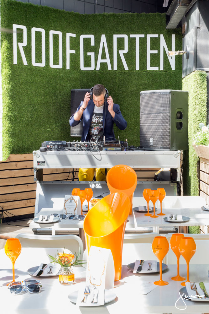 Roof Garten Veuve Clicquot Brunch