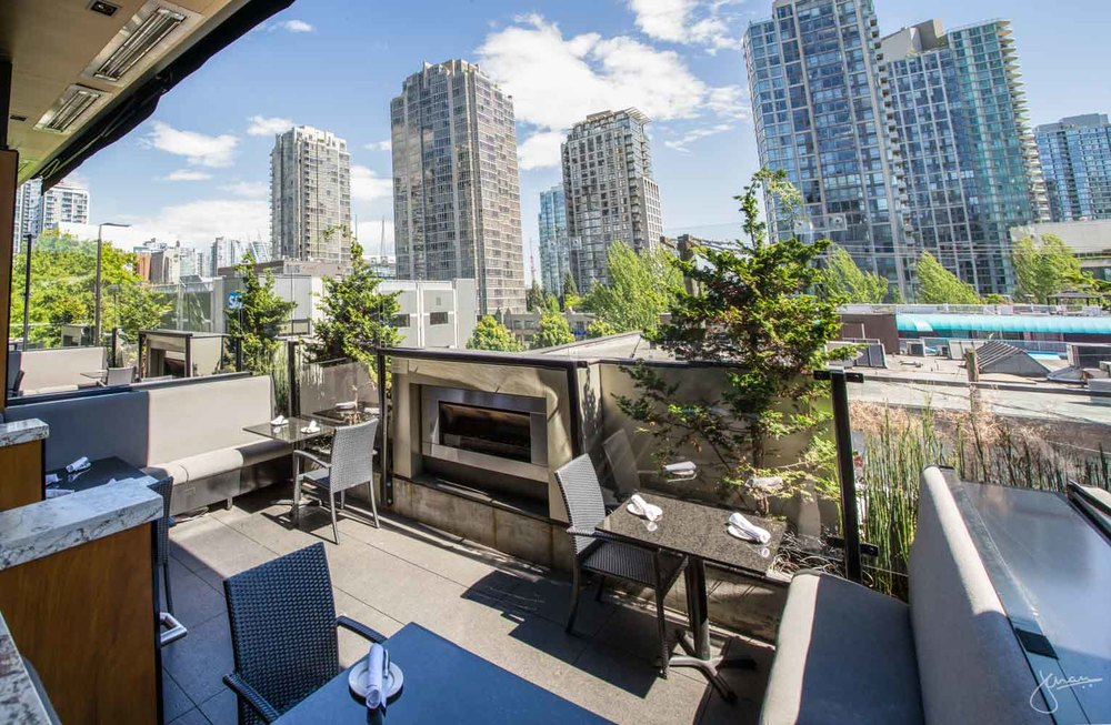 Top Patios In Vancouver Series Rooftop Patio The Keg Yaletown - Rooftop patios