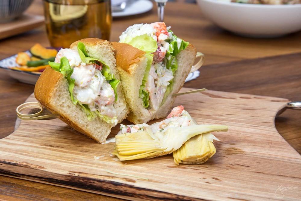 Lobster & Prawn Brioche