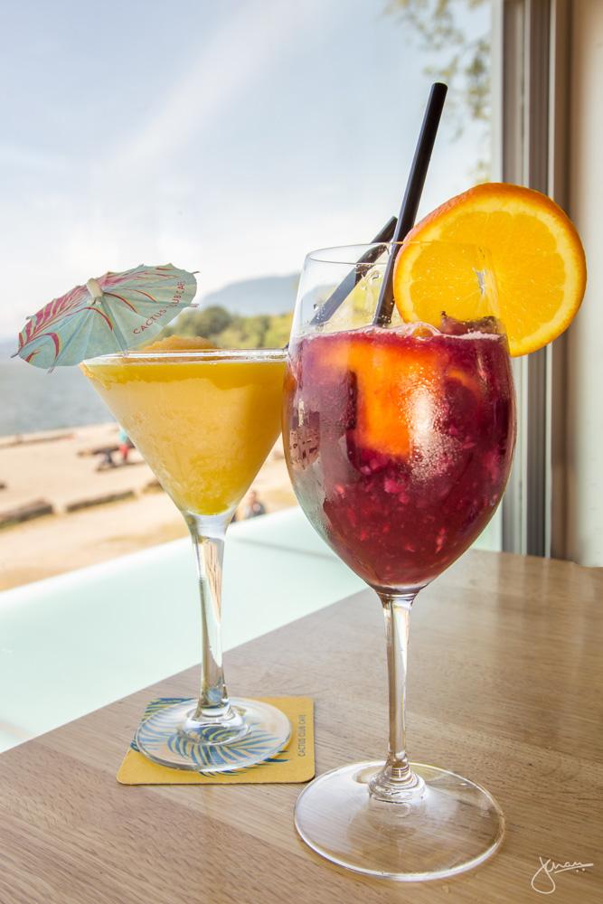 Passionfruit Bellini + Sangria
