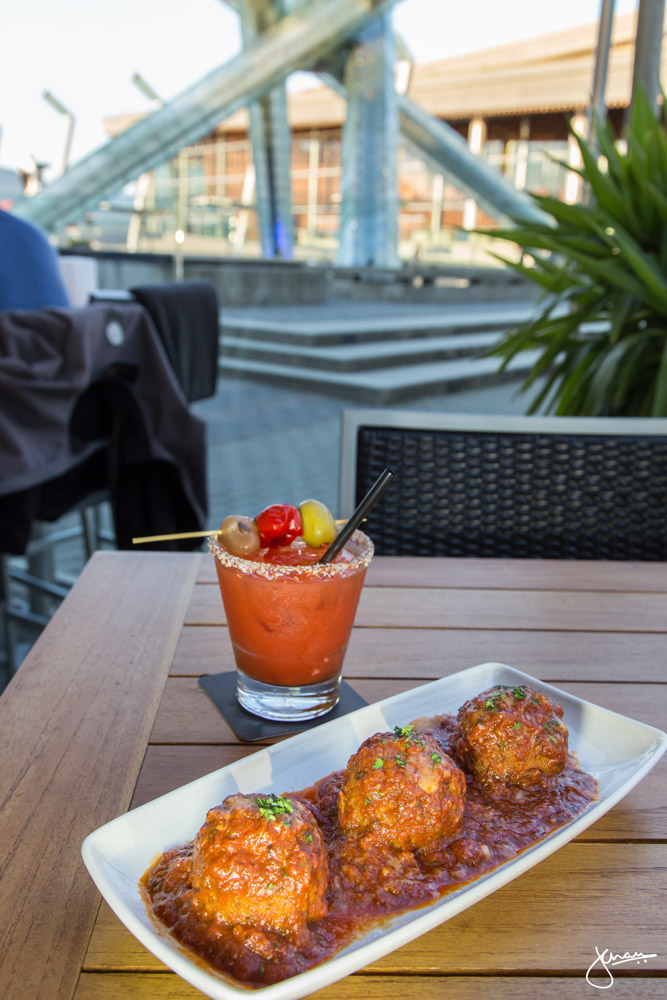 Kobe Style Meatball Trio with Caesar