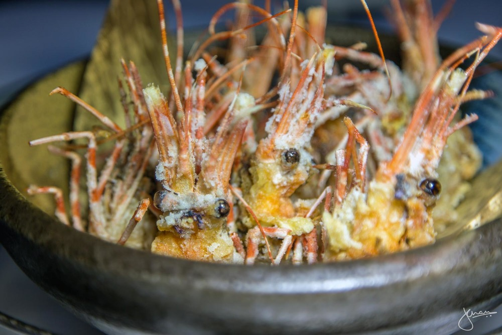 Deep Fried Prawn Heads