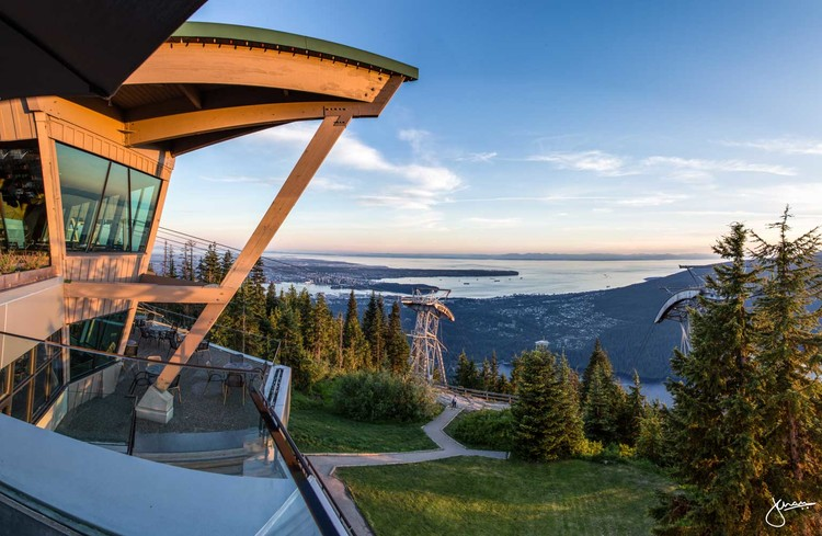 Top Patios In Vancouver Series Altitudes Bistro At Grouse Mountain