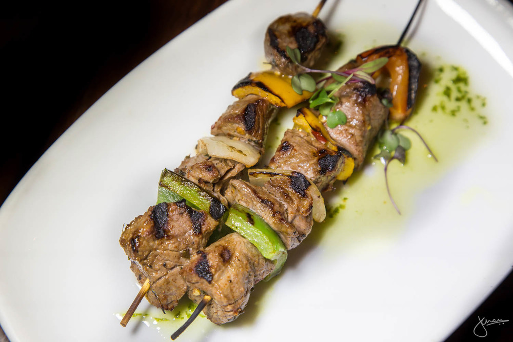 Pincho Moruno - Grilled Skewers of Marinated AAA Beef