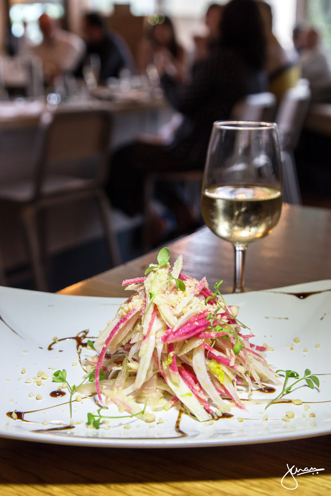 Local Watermelon Radish Salad