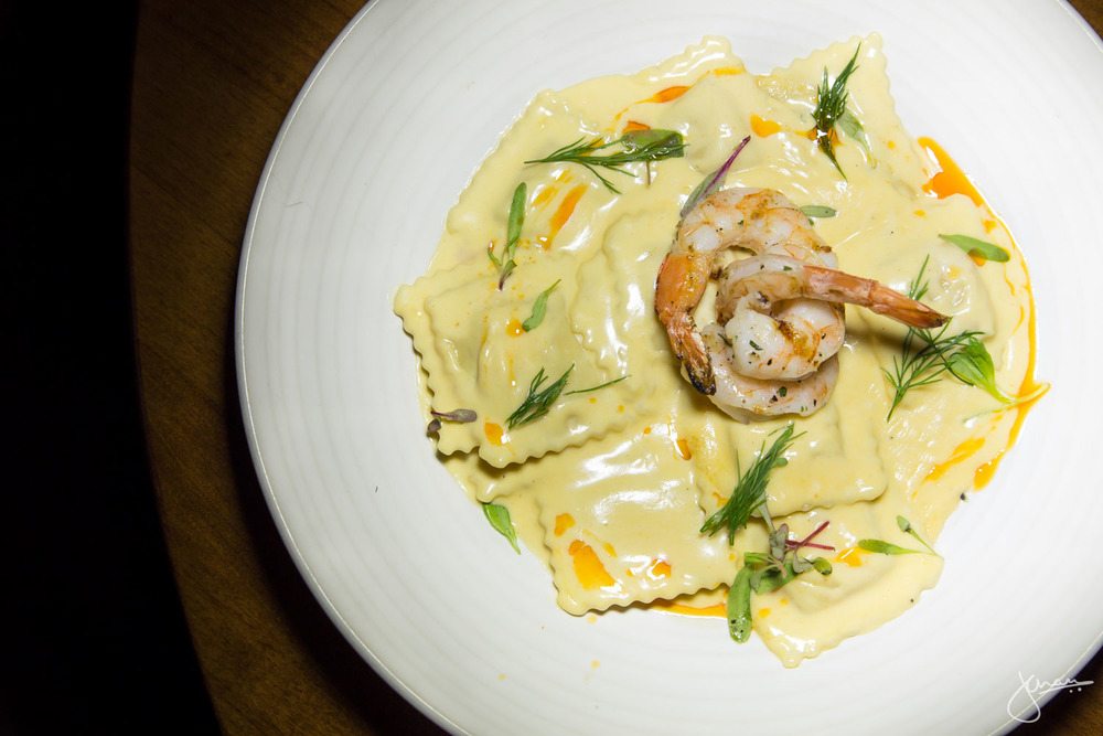 Lobster & Prawn Ravioli