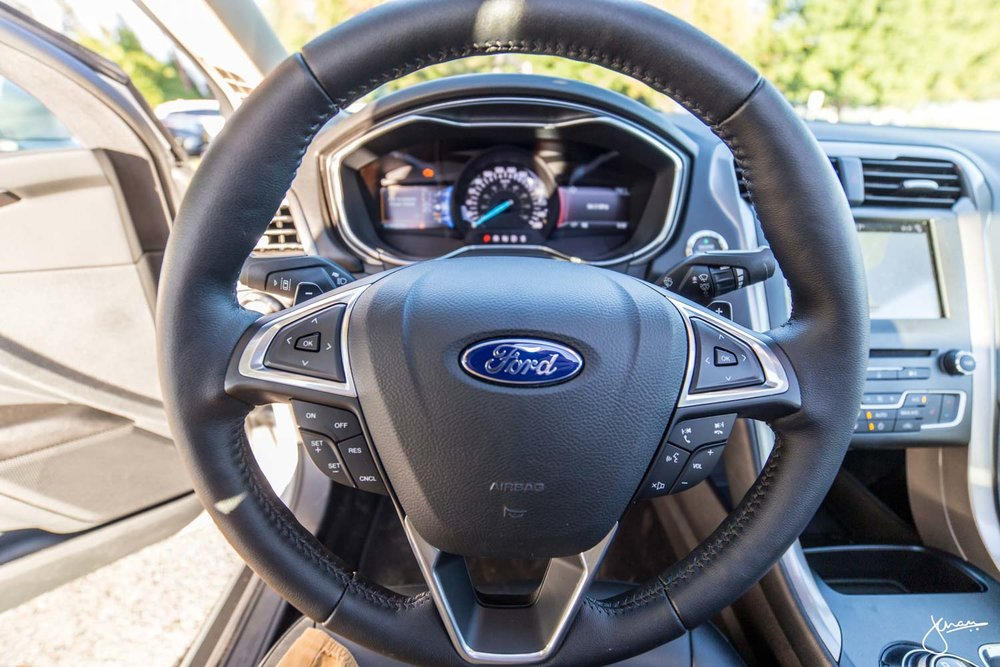 Ford Fusion 2017 Steering Wheel