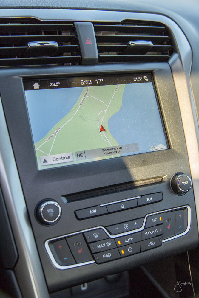 Ford Fusion 2017 Nav System