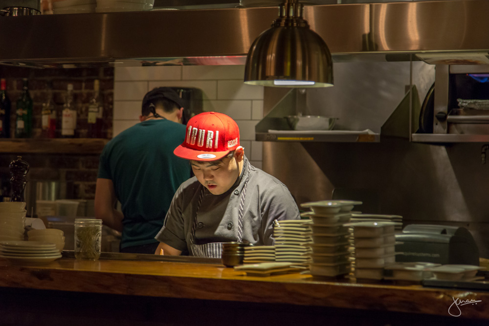 Head Chef Woo Jin Kim