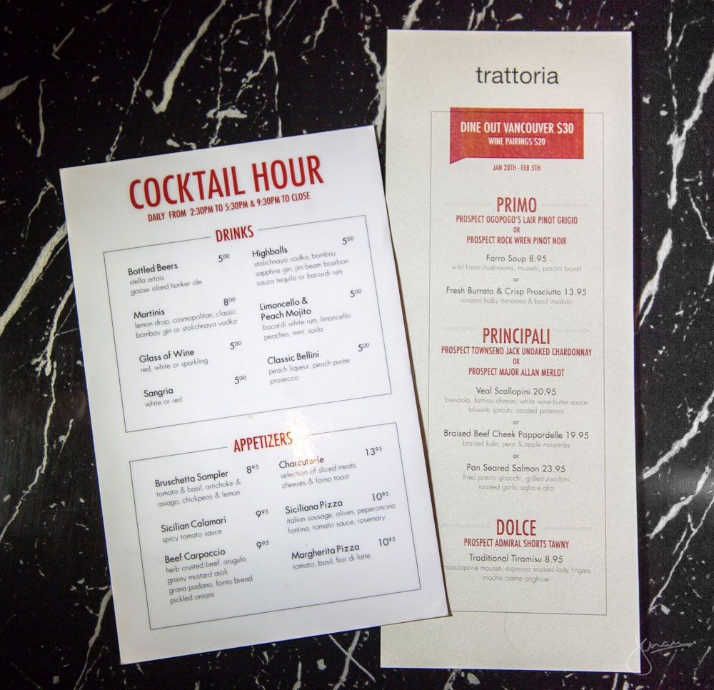 Dine Out & Cocktail Menu