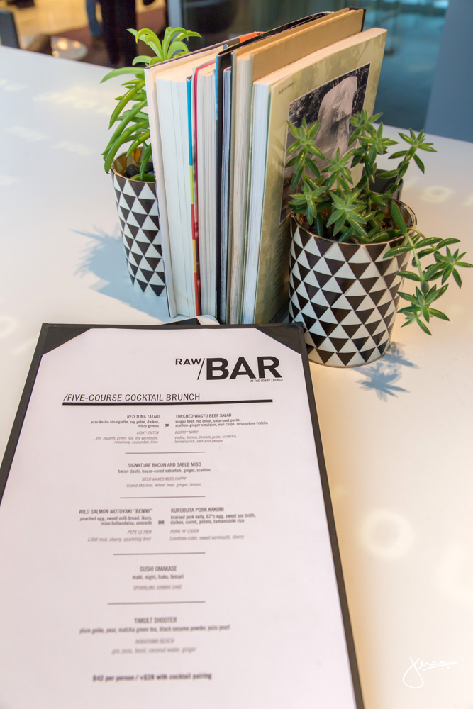 RawBar Brunch Menu