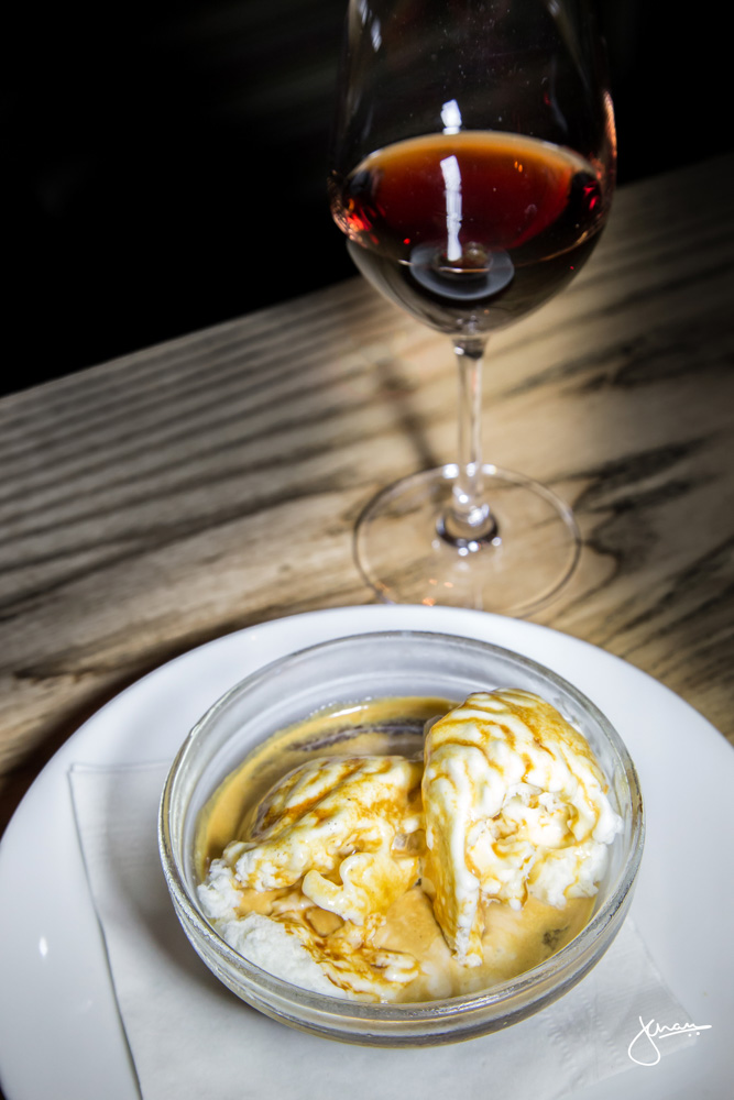 Affogato paired with Graham's 10yr old Tawny Port