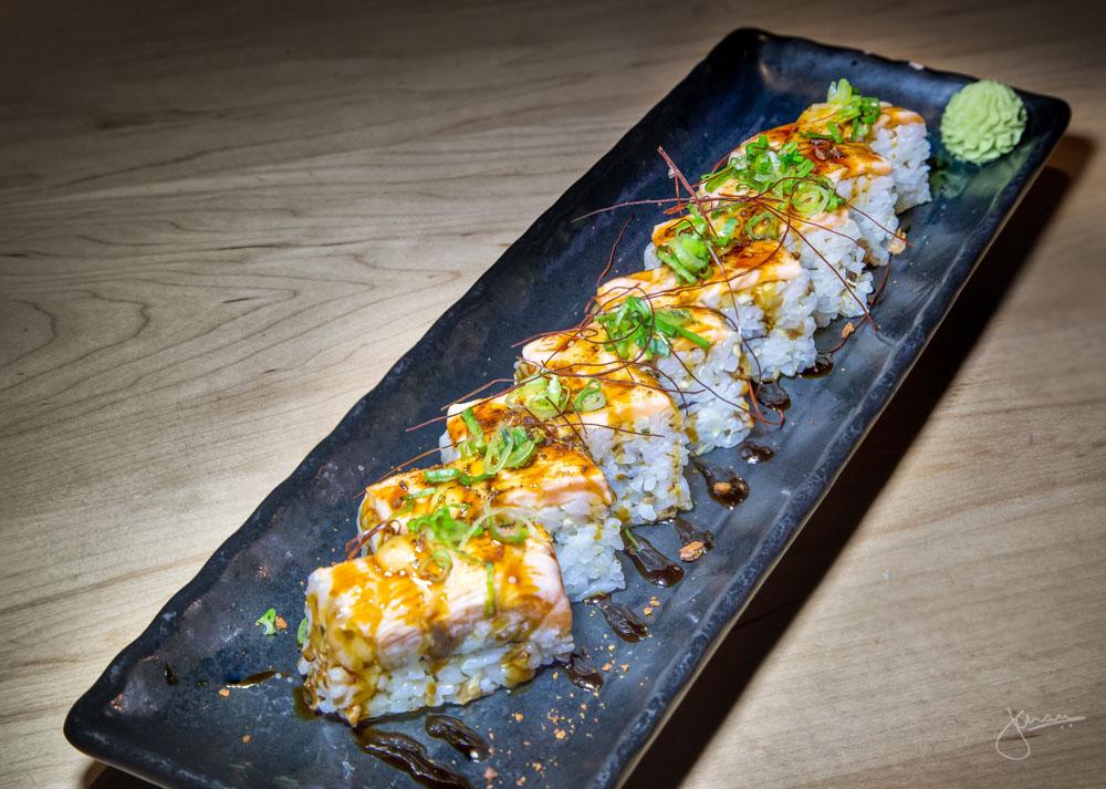 Salmon Motoyaki Battera