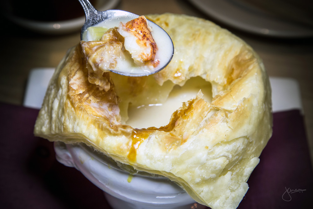 Lobster Miso Chowder Pot Pie