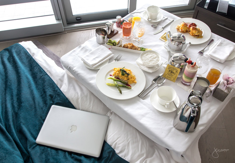 In-room Dining Breakfast in Bed