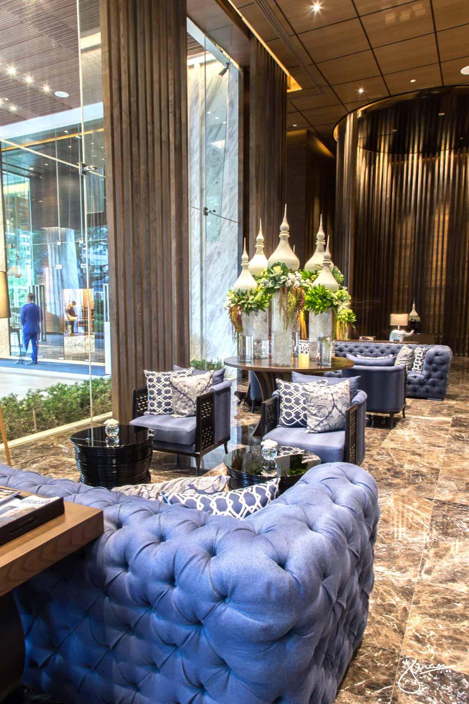 137 Pillars Bangkok lobby