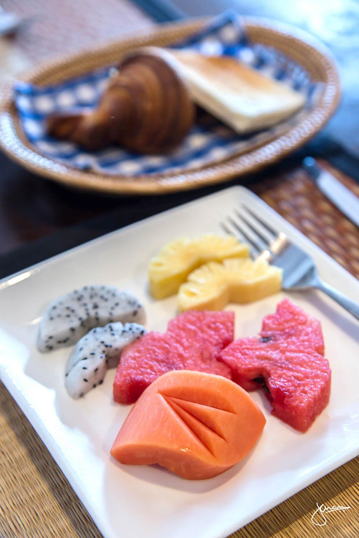 Breakfast at Amanjaya Pancam