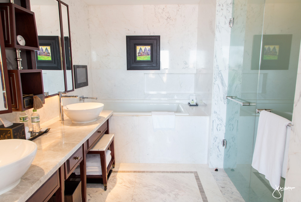 Park Hyatt Siem Reap Suite Bathroom