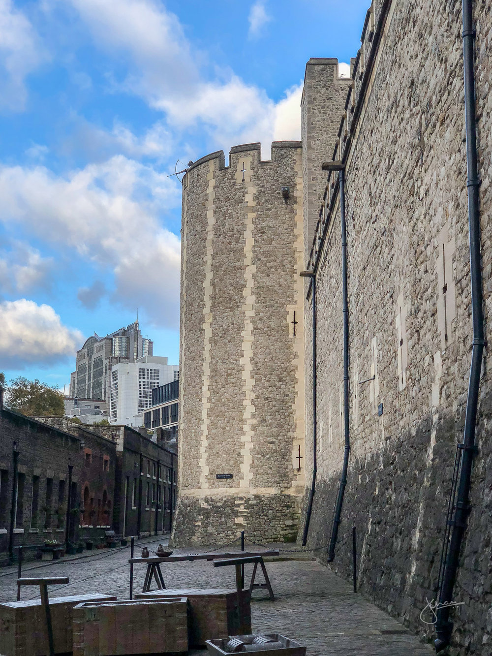 Inside the Walls of Tower of London