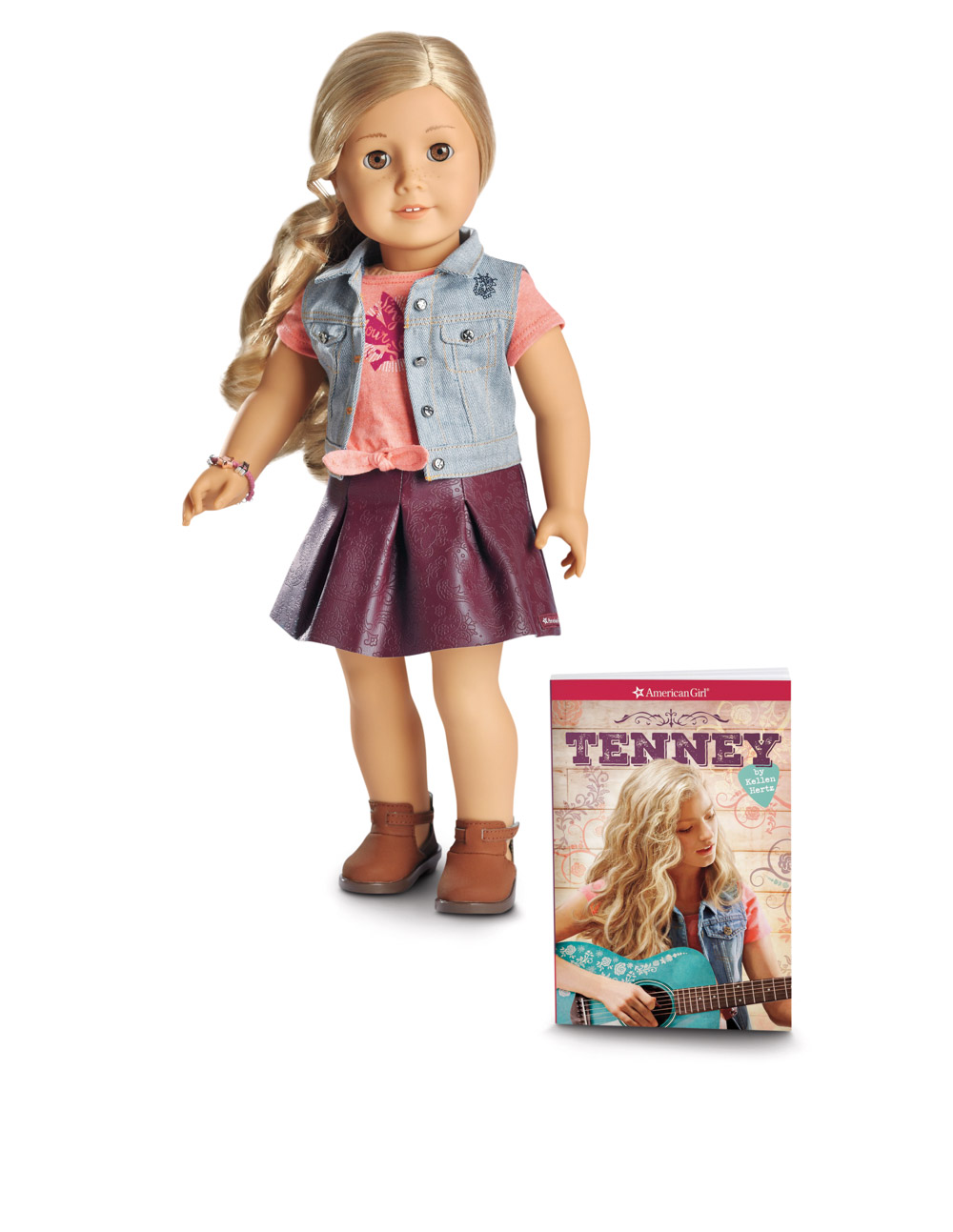 AMERICAN GIRL® - TENNEY GRANT DOLL & BOOK
