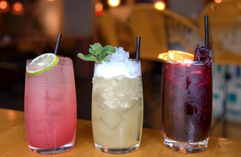 Cocktails: El Diablito, Tepache Colada, Jamaica Canela