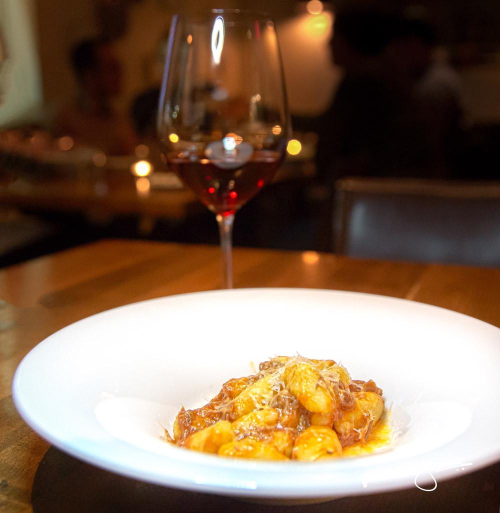 Veneta | Potato Gnocchi, Braised Oxtail Ragu, Pecorino Wine Pairing: Werner Walch Saint Magdalener Schiava