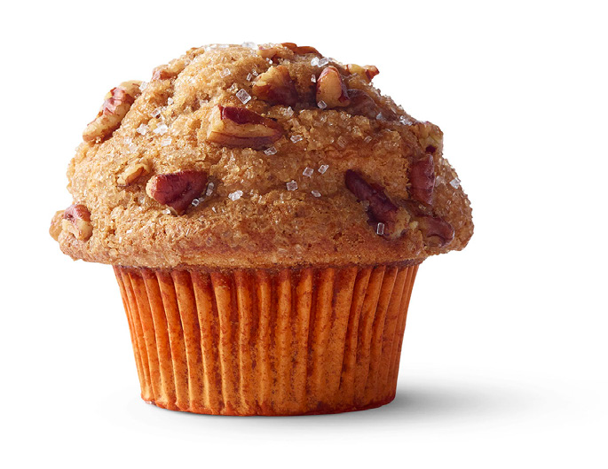 Starbucks NEW Maple Pecan Muffin