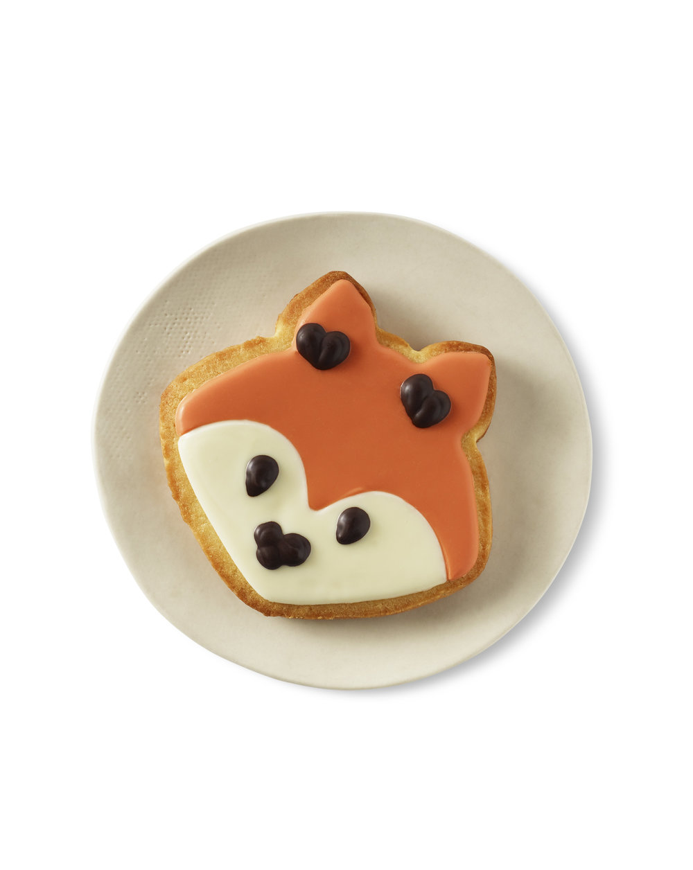 Starbucks Fox Iced Sugar Cookie