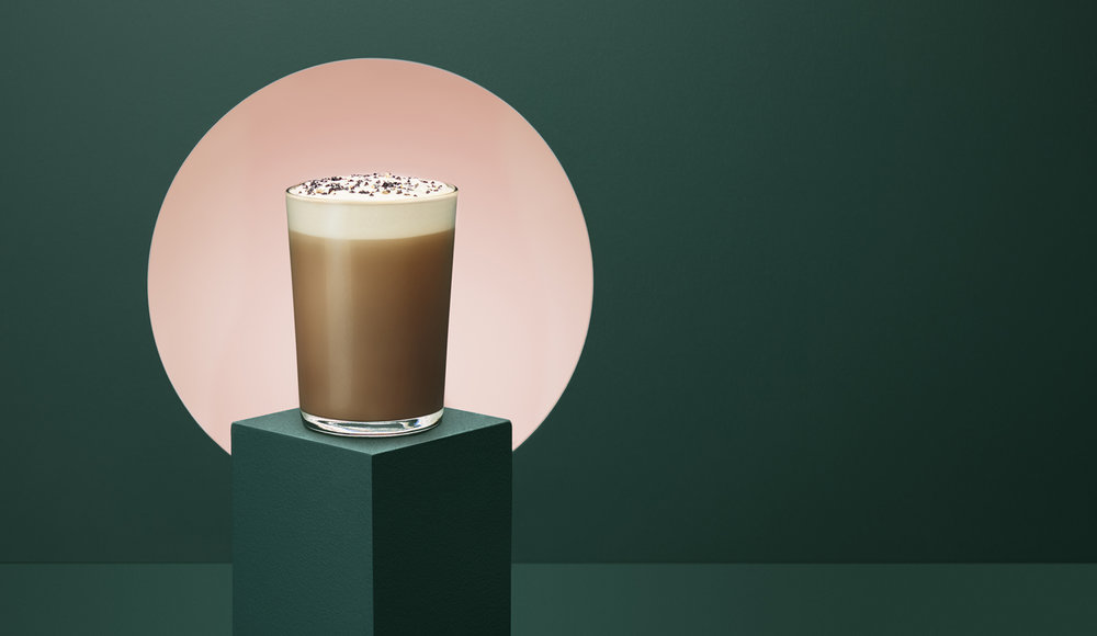 Starbucks Teavana Black Sesame Tea Latte