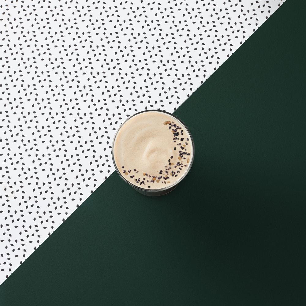 Starbucks Teavana Black Sesame Tea Latte